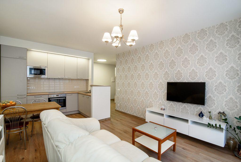 Appartement verbouwing, keuken naar andere ruimte