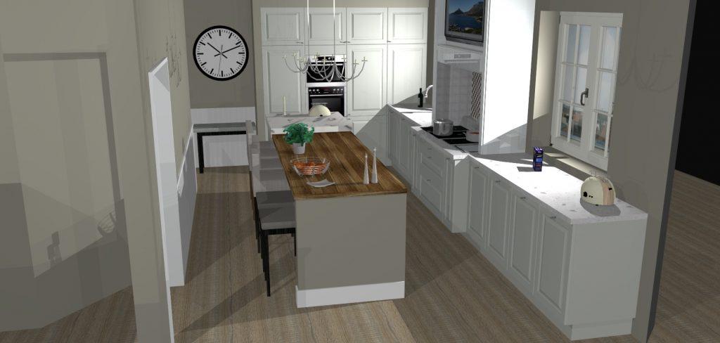 virtuves projektas