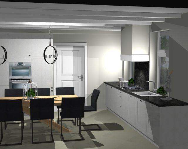 Nieuwe keuken ontwerp, Roggel