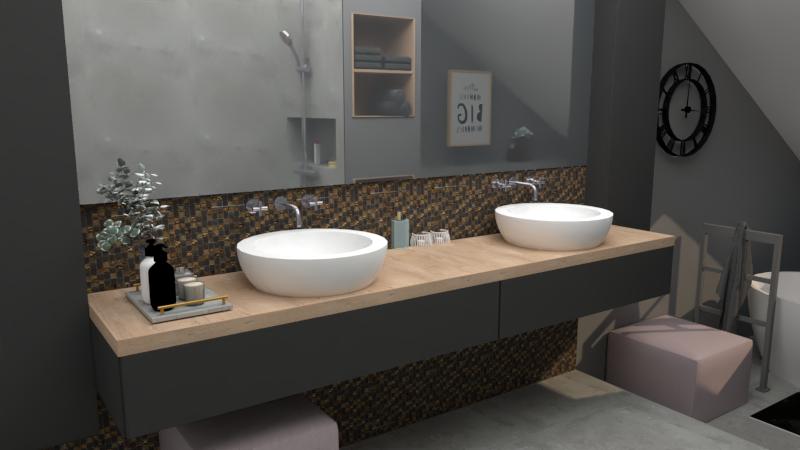 Badkamer ontwerp, Uden